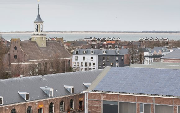 Molenplein fase 1 gezien vanaf Willemsoord