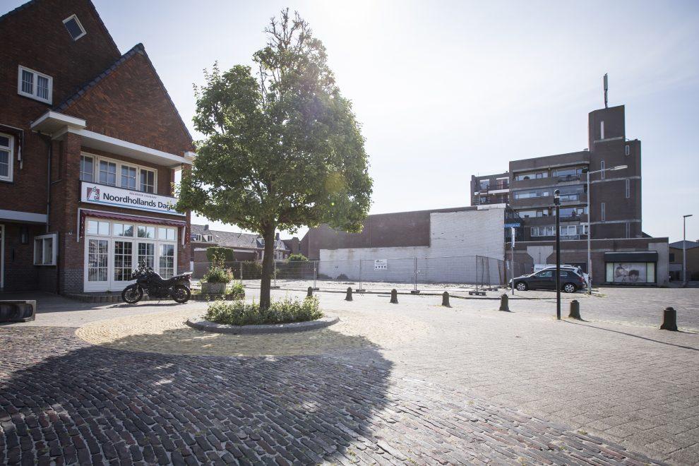 De voormalige schouwburg aan het Bernhardplein
