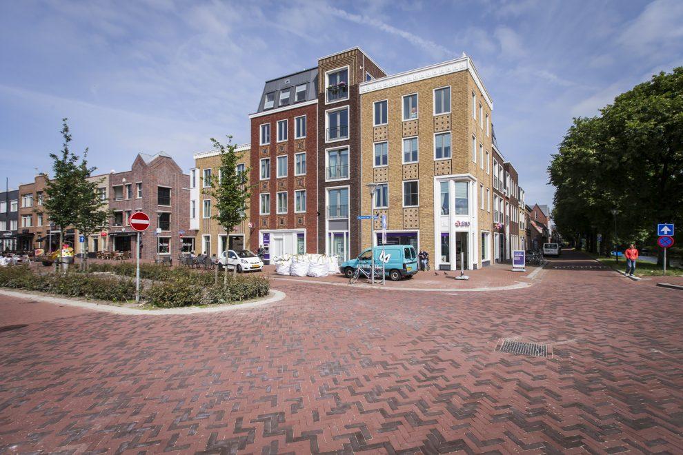 Nieuw aangelegde Kop Beatrixstraat