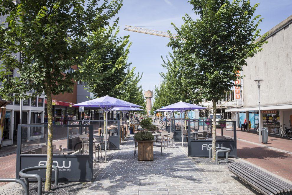 Nieuw aangelegde Beatrixstraat