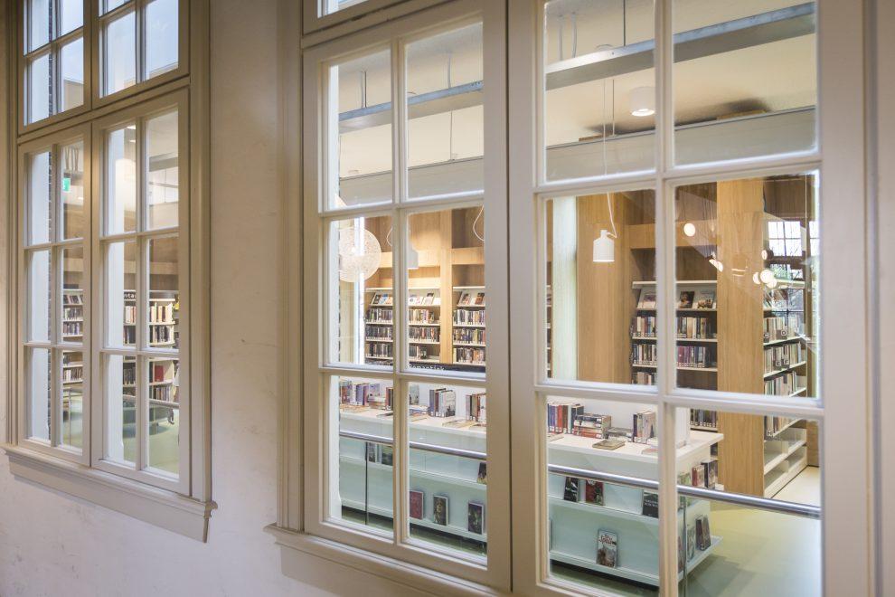 De bibliotheek in School 7
