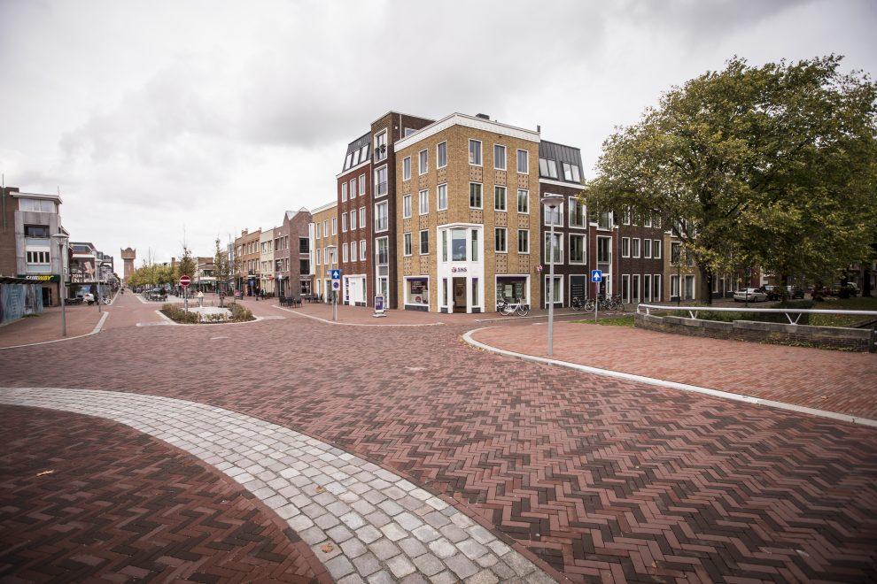 Heringerichte kop van de Beatrixstraat