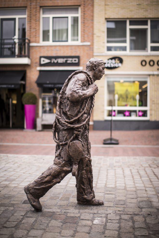 Eén van de Wervianen in de Beatrixstraat