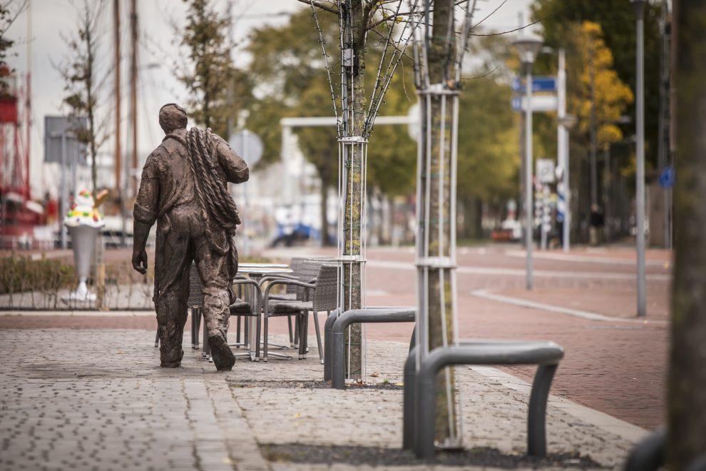 Werviaan gaat richting de Oude Rijkswerf Willemsoord
