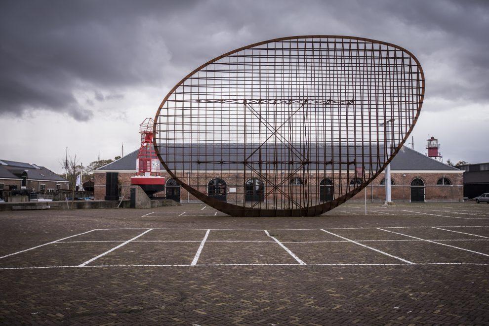 Kunstwerk Rudi van de Wint op Willemsoord