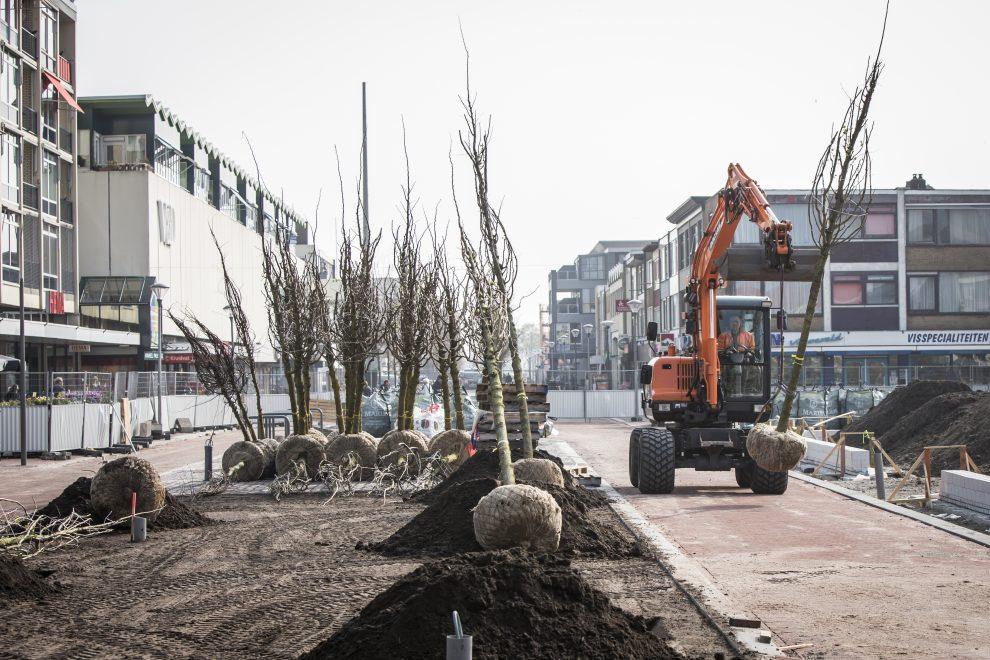 Eerste bomen stationsgebied geplant