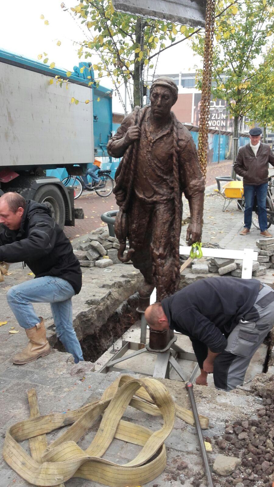 Beelden Wervianen in de Beatrixstraat
