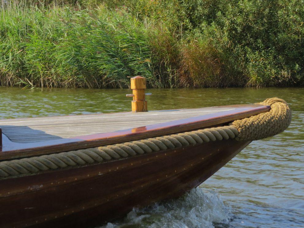 De Vluisterboot op de Kanoroute