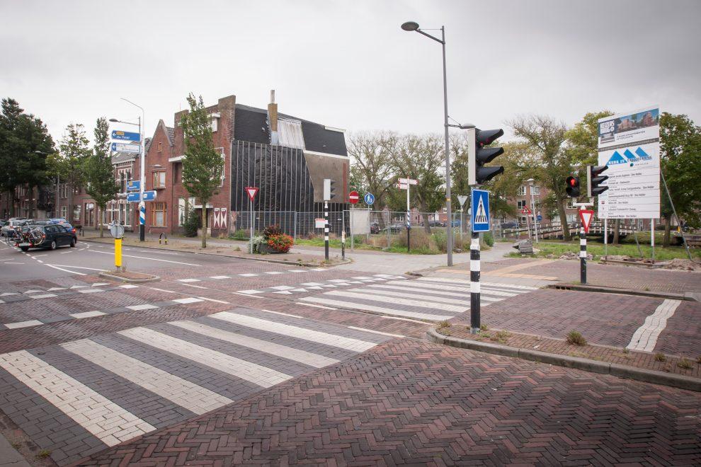 Oude situatie Kop Beatrixstraat