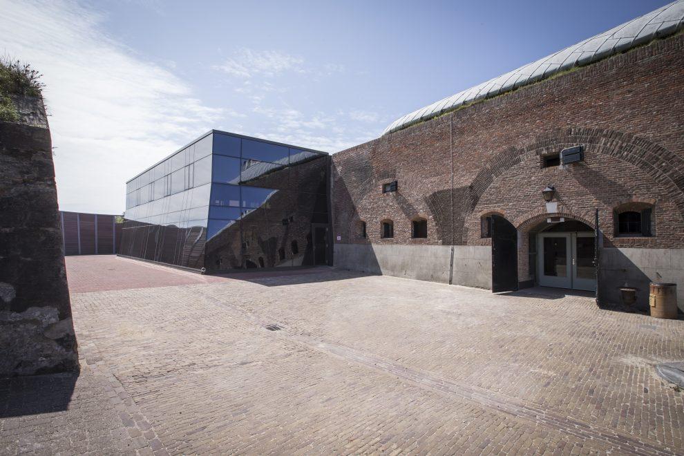De bastions van Fort Kijkduin