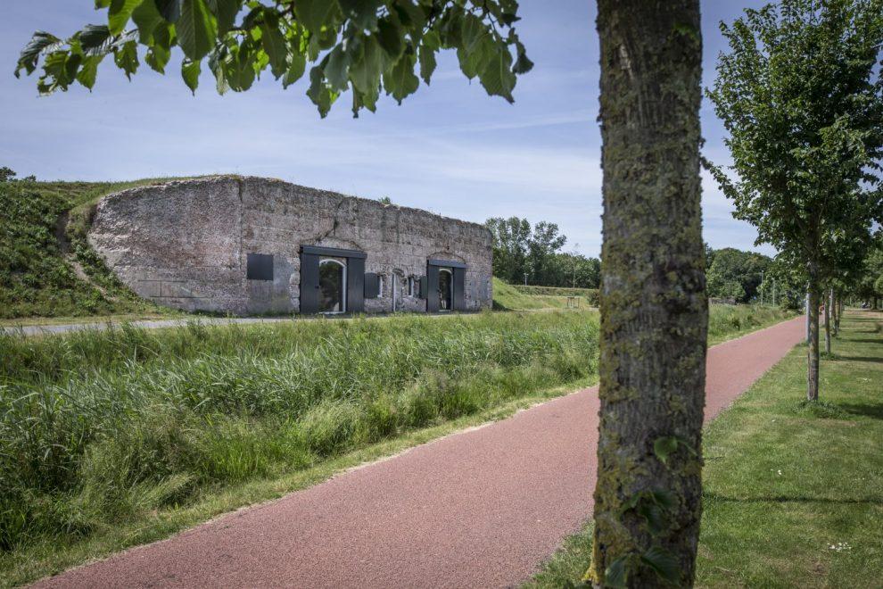 De Remise als onderdeel van de Liniedijk