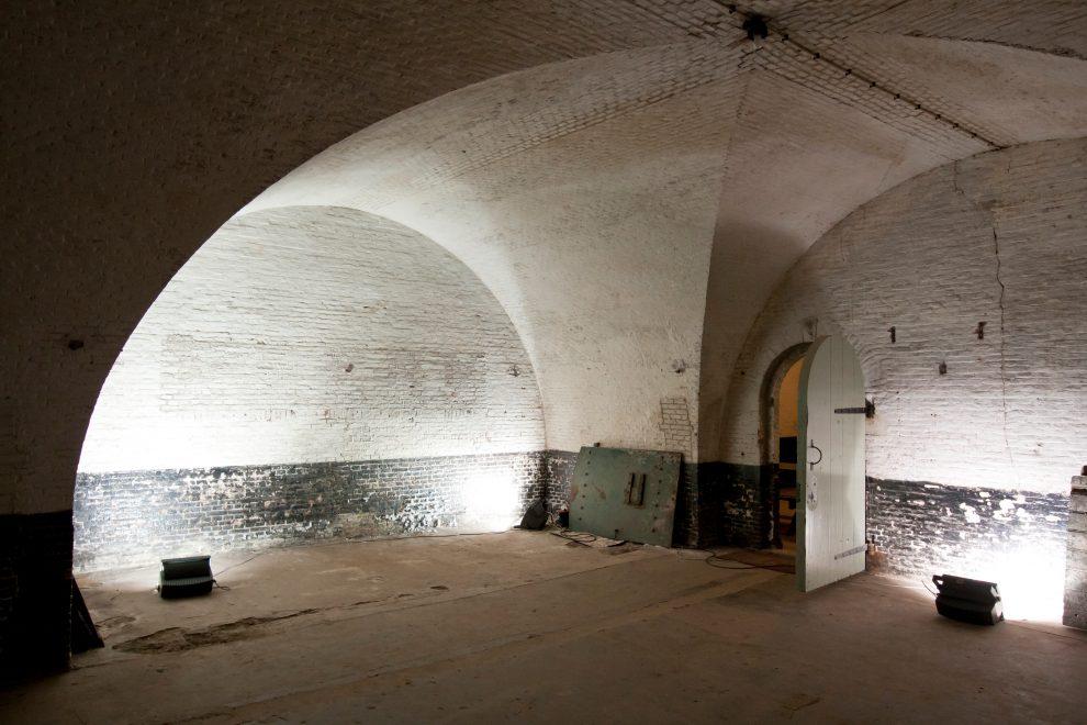 Binnenin Fort Westoever